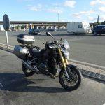 prendre l'autoroute à moto