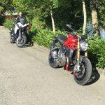 deux essais moto Ducati avec David Jazt