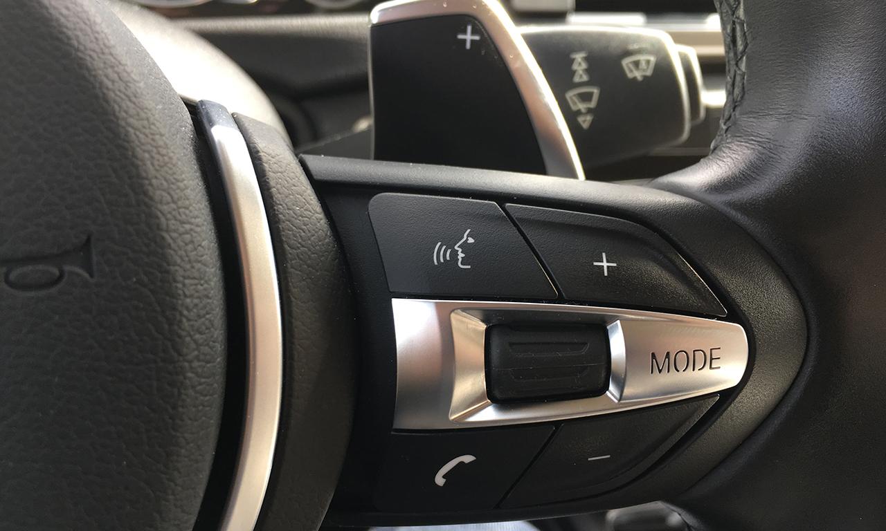 palette au volant à droite sur le SERIE 4 BMW