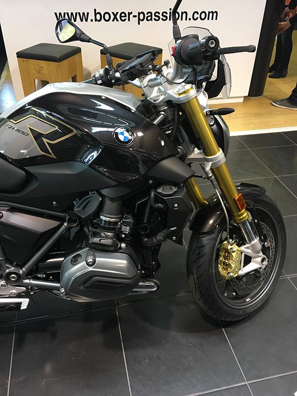 moto BMW R12R noire 2018