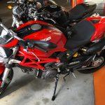 Ducati Monster rouge à vendre sur Rennes : 06 78 97 27 20