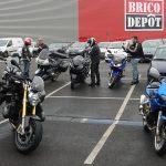 départ de Rennes sous la pluie