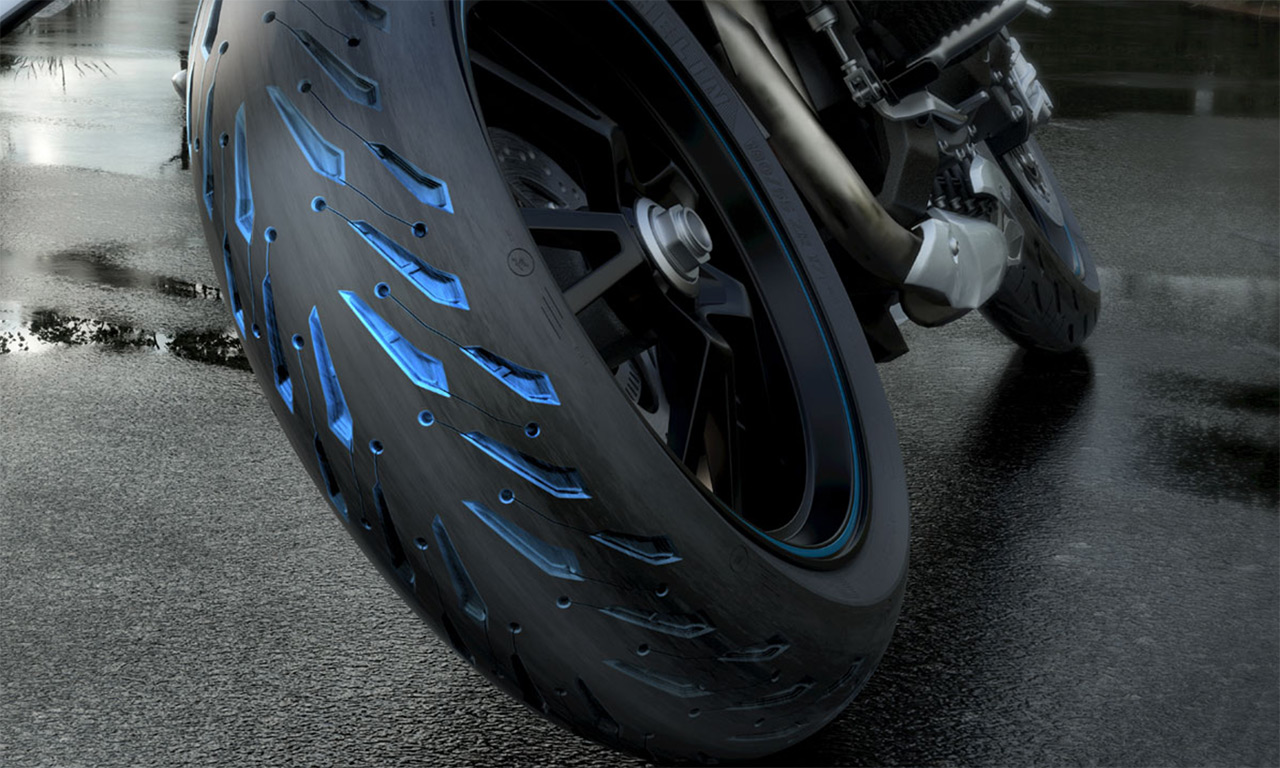 Pneu moto Michelin Road 5