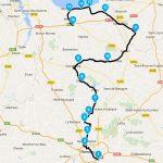 Roadbook et itinéraire balade moto au départ de Rennes vers Saint-Malo