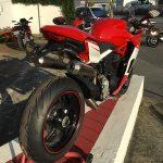 Moto Ducati à Bayonne : 939 Super Sport