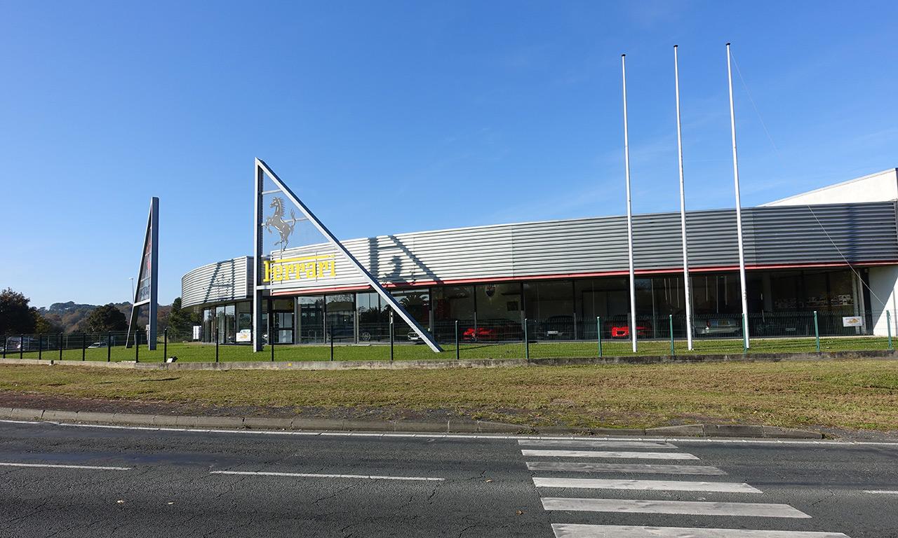 Concession Ferrari à Bayonne