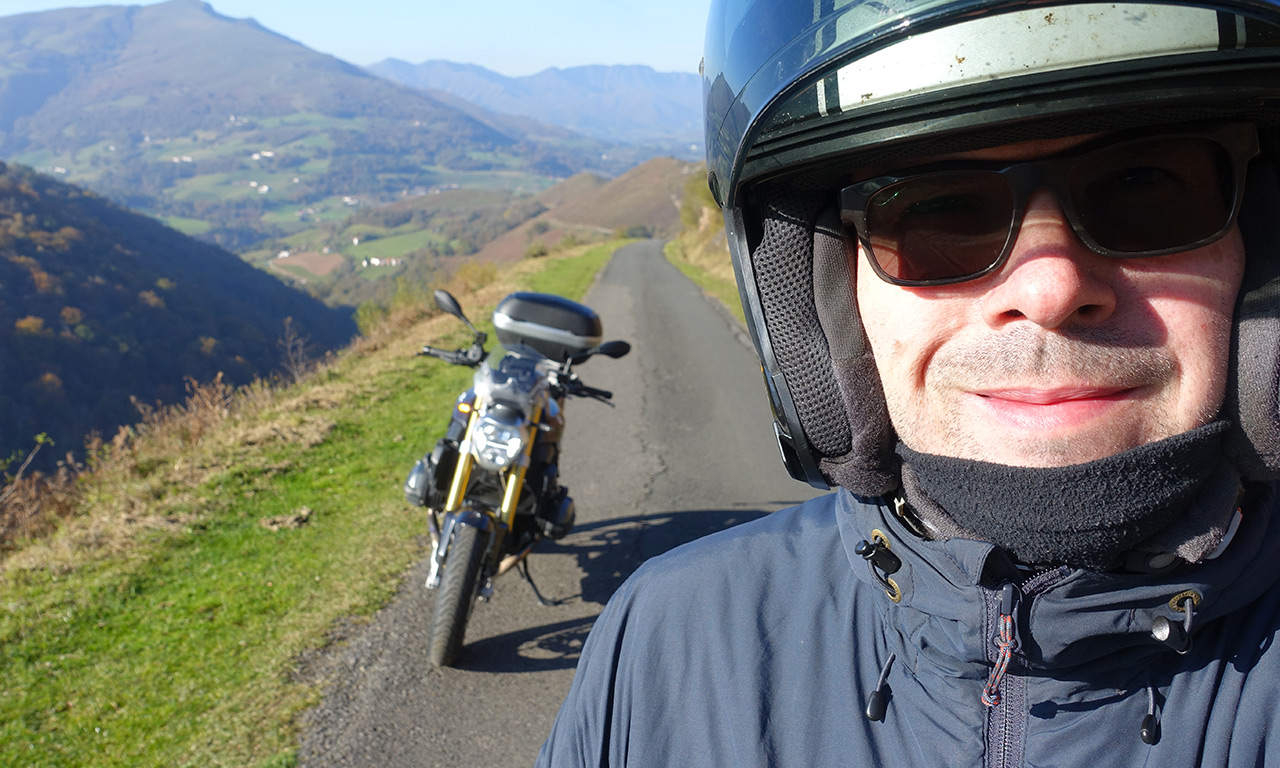Se balader en montagne à moto : sentiment de liberté
