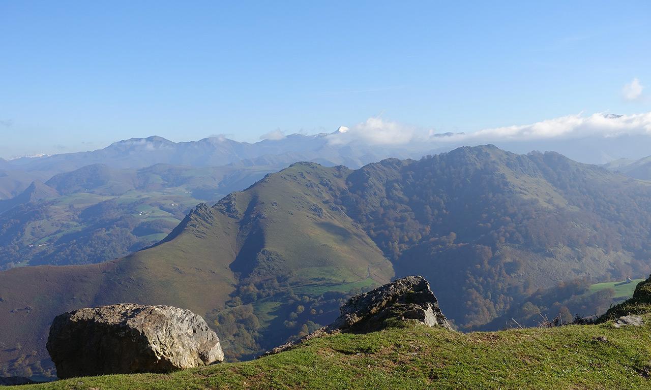 paysage montagne Basque des Pyrénées