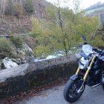 balade moto en montagne