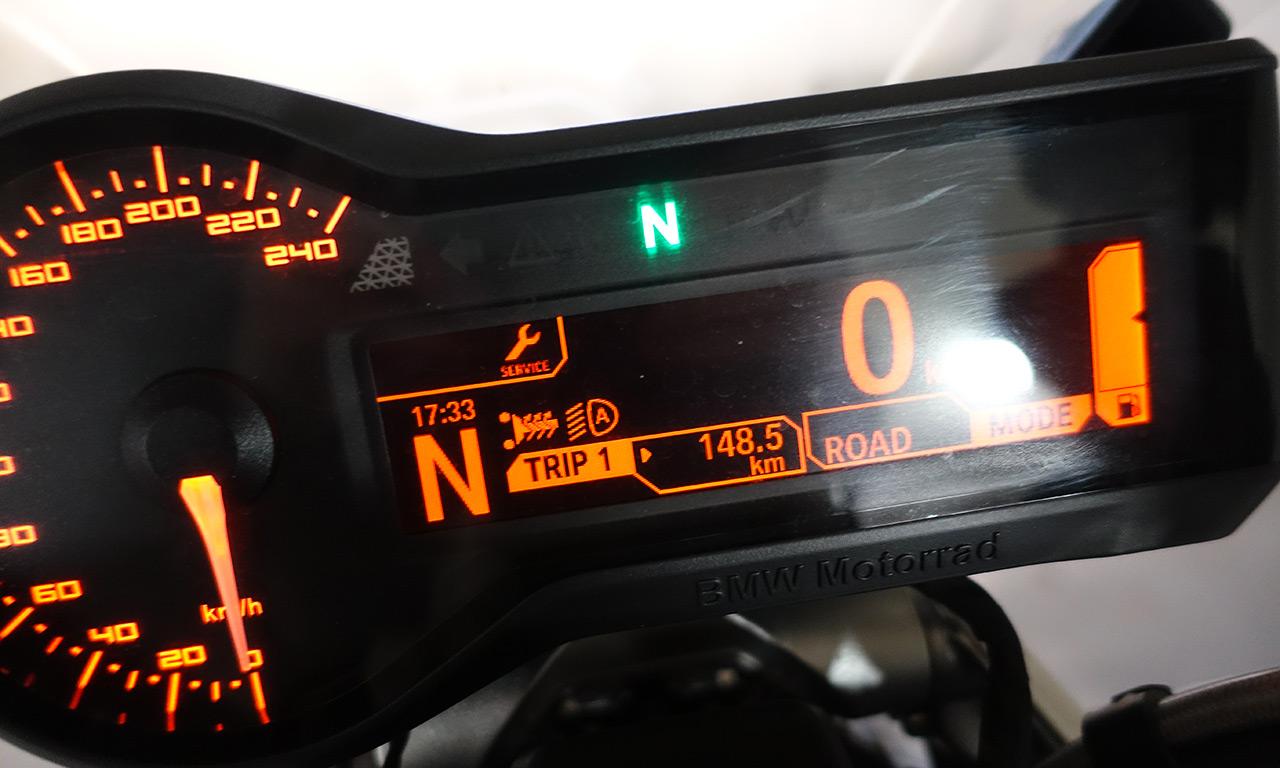 Près de 150km à moto avec les poignées chauffantes