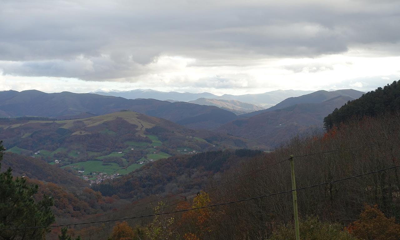 Vue vers les montagnes