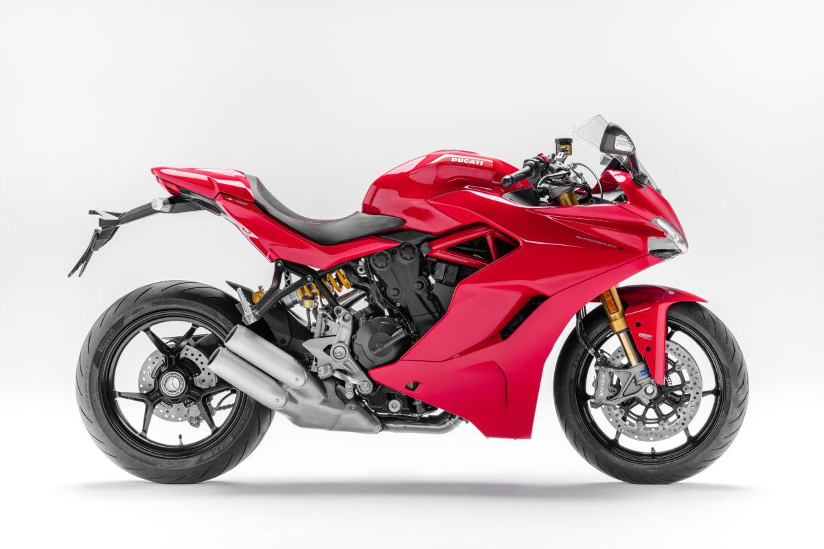 Ducati Super Sport S rouge