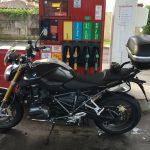 plein d'essence moto à Bayonne