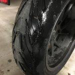 Premier kilomètres sous la pluie avec les Road5 de chez Michelin