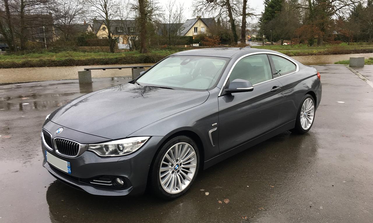 voiture BMW serie 4 : 430D 258cv