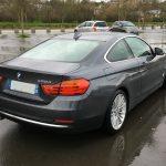 BMW 430D vue arrière droit