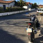 balade moto en BMW R1200R
