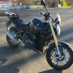 BMW R1200R sans valise ni top case