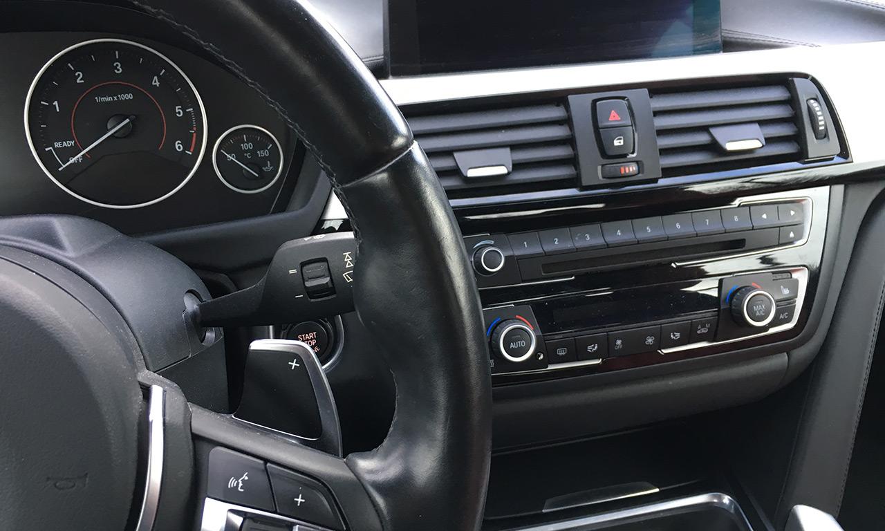 intérieur et volant BMW SERIE 430D