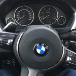 volant avec palettes sur le 430D BMW Pack M