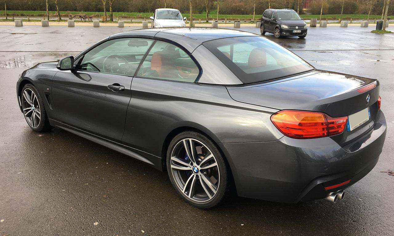 Cabriolet BMW : serie 4