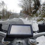 ambiance en hiver dans les montagnes Basques