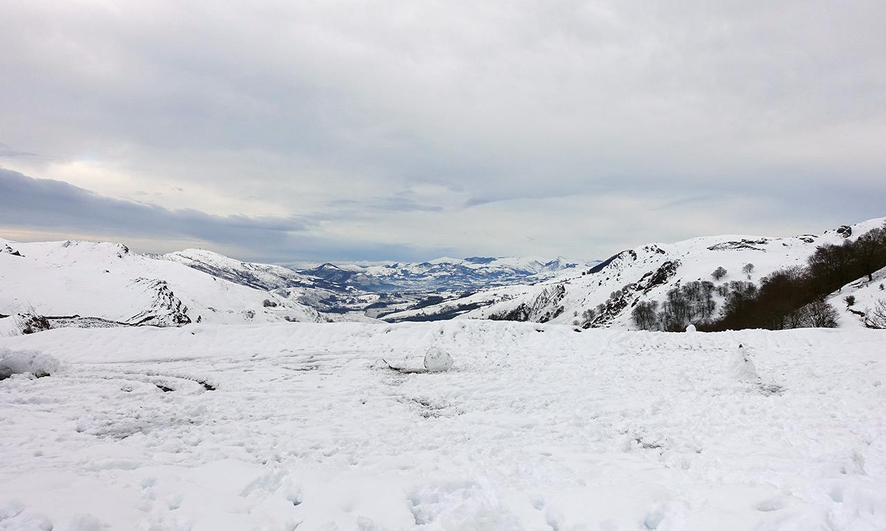 vue sur la vallée de Saint-Étienne-de-Baïgorry