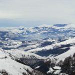 vue montagne neige hiver 2018