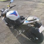 S 1000 R bleu et blanche à Bayonne