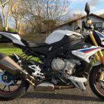BMW S1000R blanche