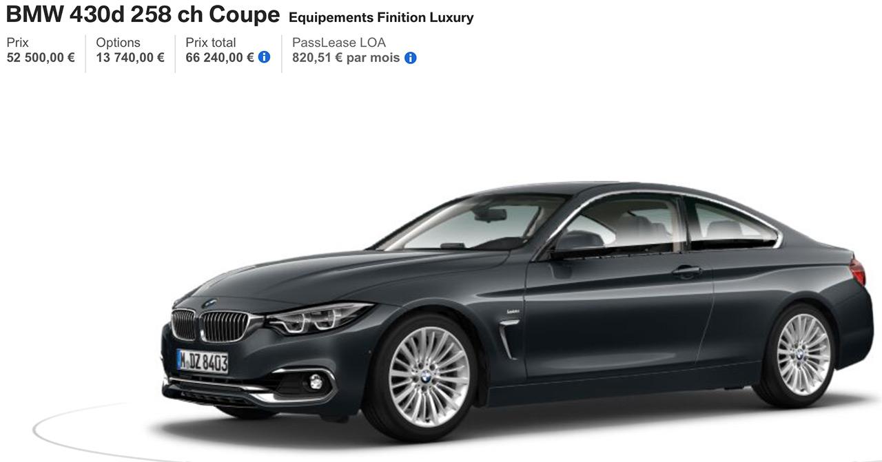 BMW 430D Luxury