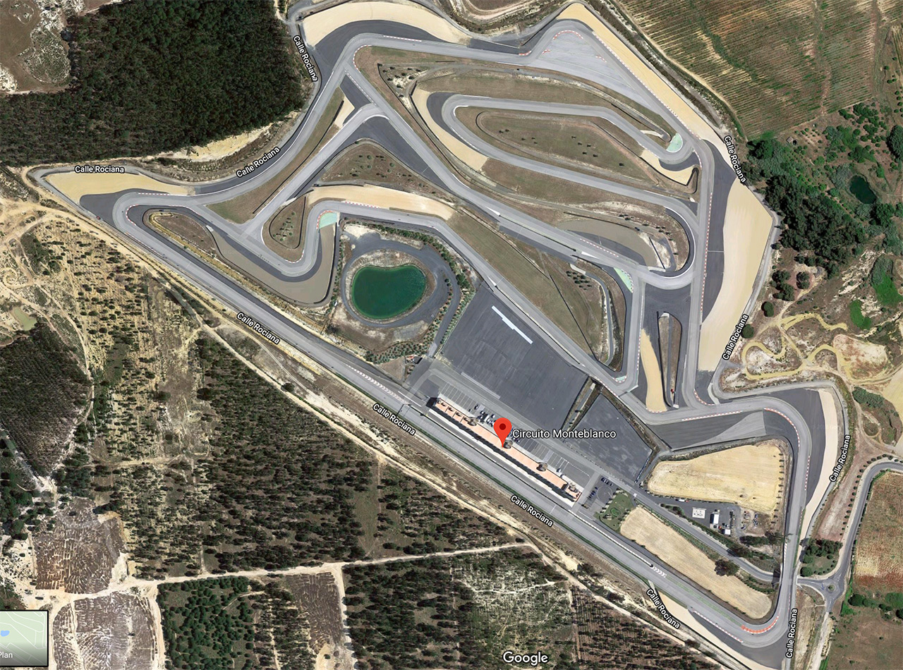 Circuit moto Monteblanco a Seville - Spain