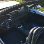 intérieur du MX 5 de chez Mazda