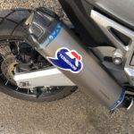 échappement Termignoni sur le Honda XADV