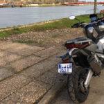 Essai du XADV à Bayonne, merci 3C moto