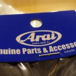 visière pour casque de moto Arai