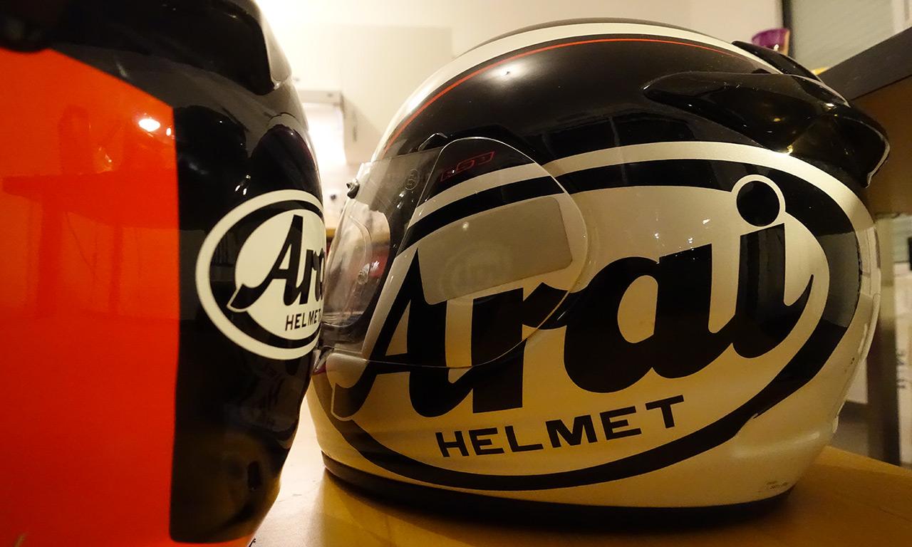 arai : le top en matière de casque de moto