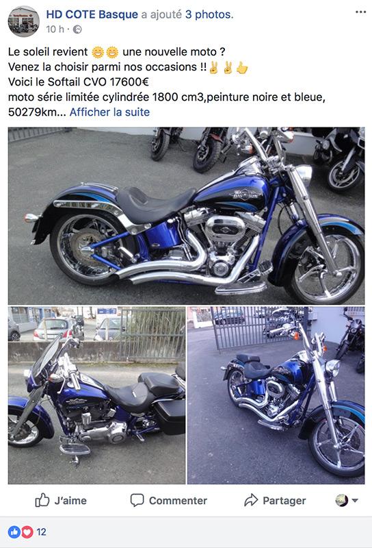 Acheter une Harley Davidson d'occasion