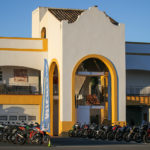 Michelin en Espagne au circuit de Monteblanco pour le lancement du pneu moto Road5