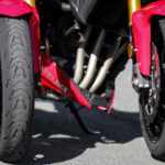 Comparatif pneu usé et pneu neuf