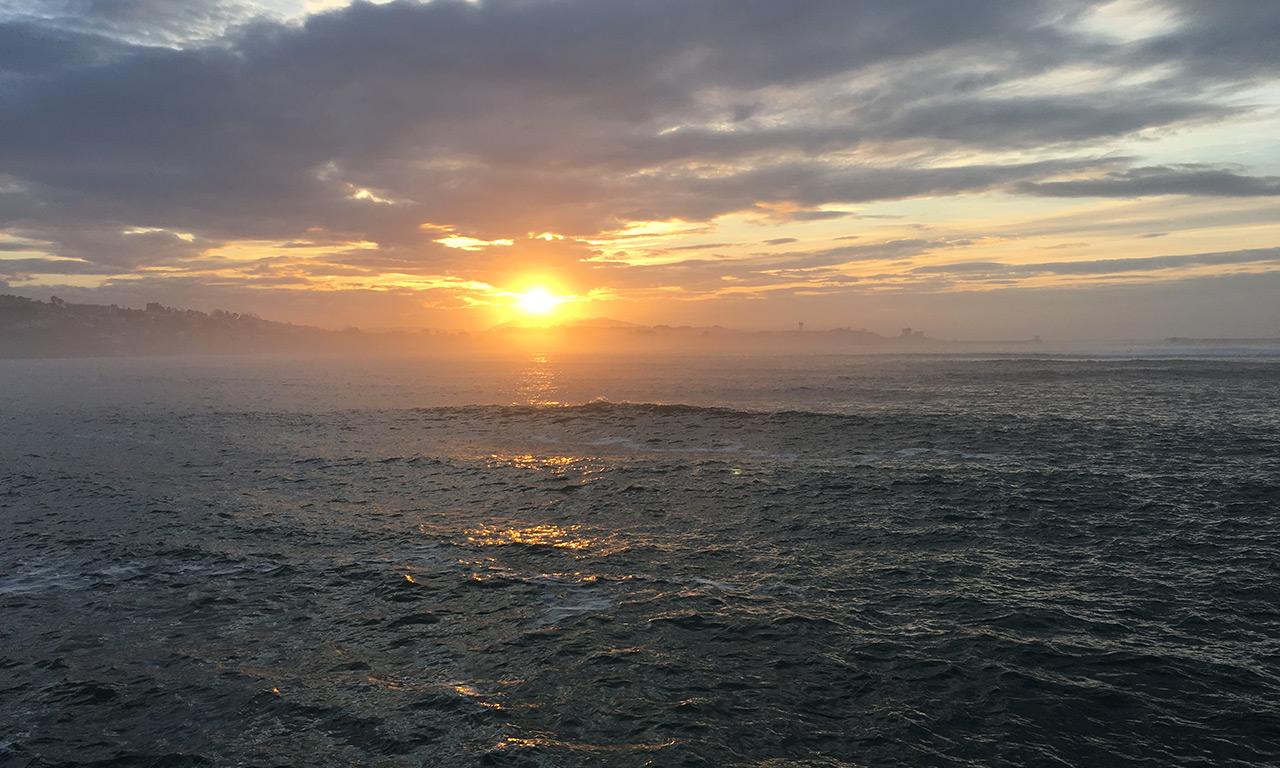 vue mer à Saint-Jean-de-Luz, Pays Basque