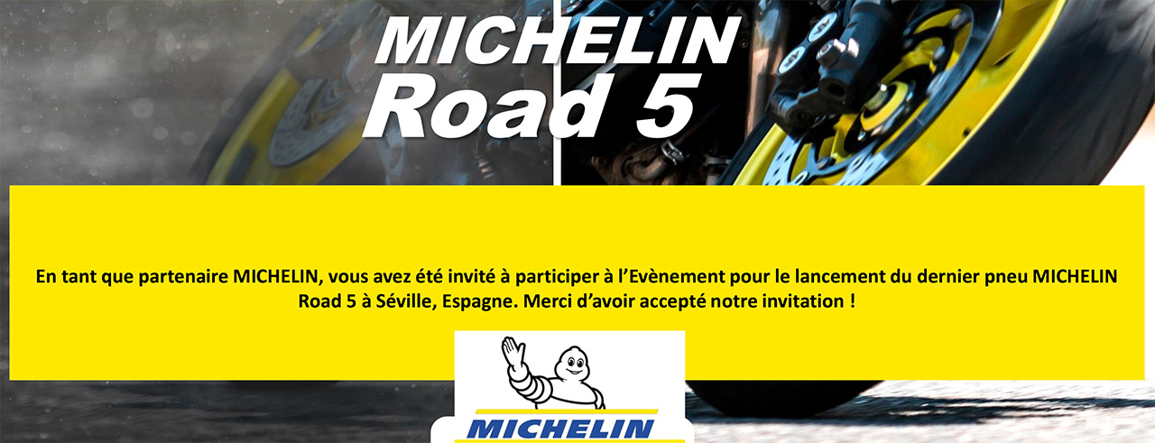 Michelin Seville 2018 : pneu moto Road5