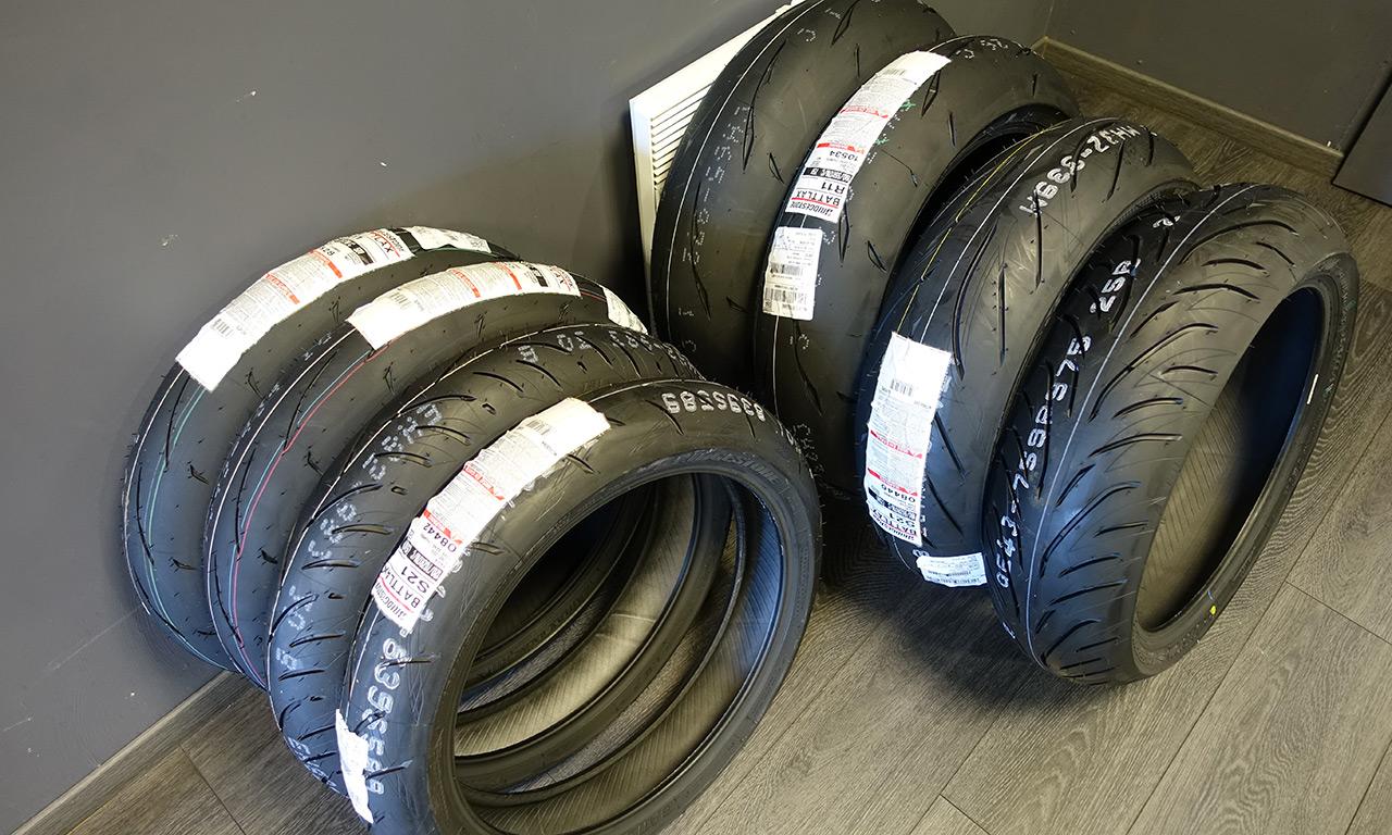 Gamme pneu moto Bridgestone