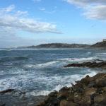 Guethary et sa vue vers l'océan
