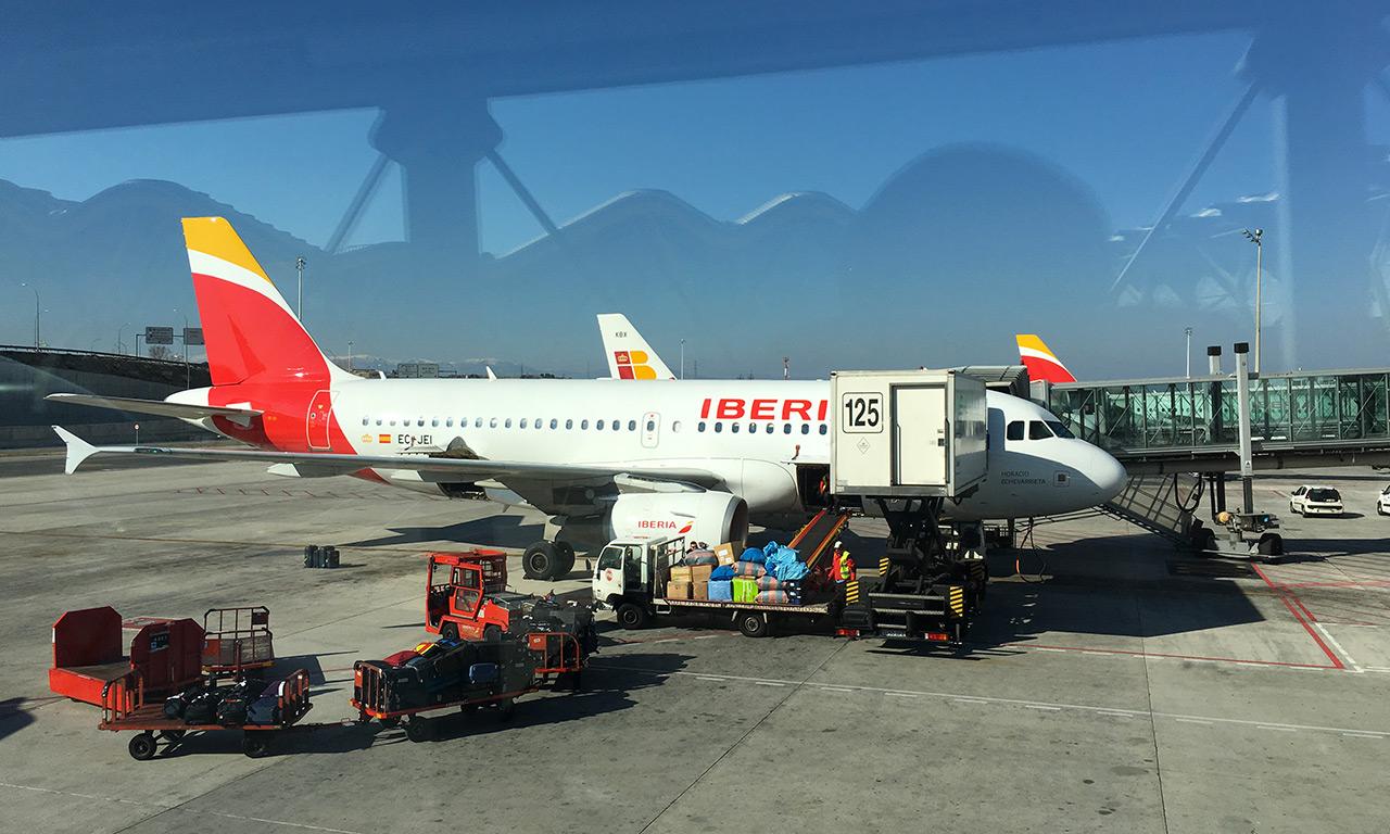 Avion en direction de Séville depuis Madrid