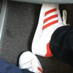 David Jazt dans l'avion en Espagne