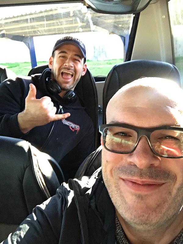 Redman de Motopiste.net et David Jazt à Séville pour le #Road5