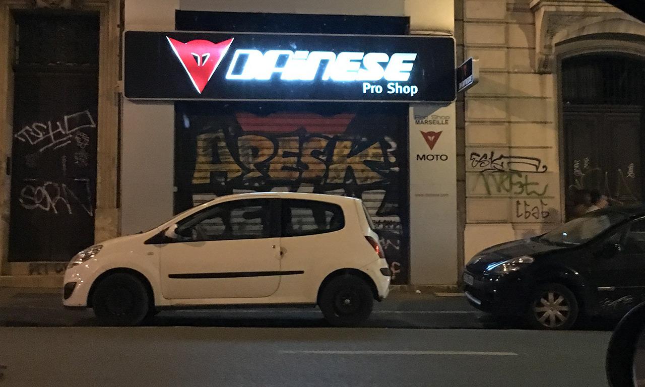 Dainese pro shop de Marseille