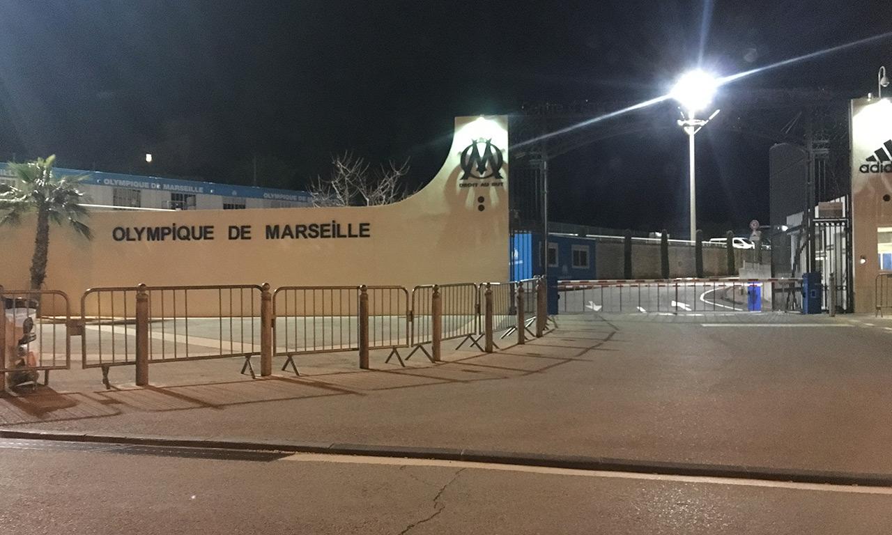 Olympique Marseillais : club d'entrainement de l'OM