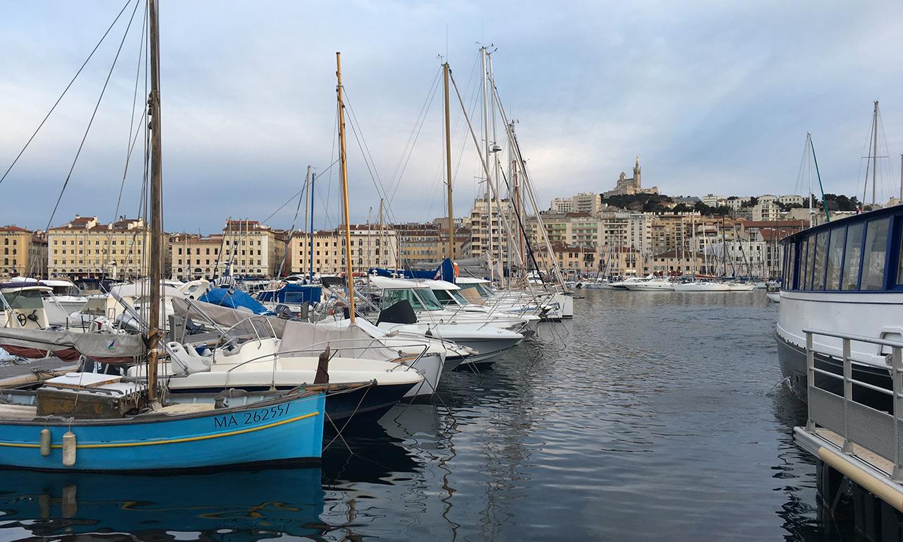 Balade au coeur de Marseille : le vieux port